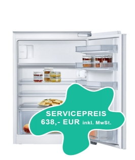 Neff Einbau-Kühlschrank mit Gefrierfach, 88er Nische, K1525XFF1
